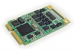 Mini PCIe ARINC 429 multichannel interface cards