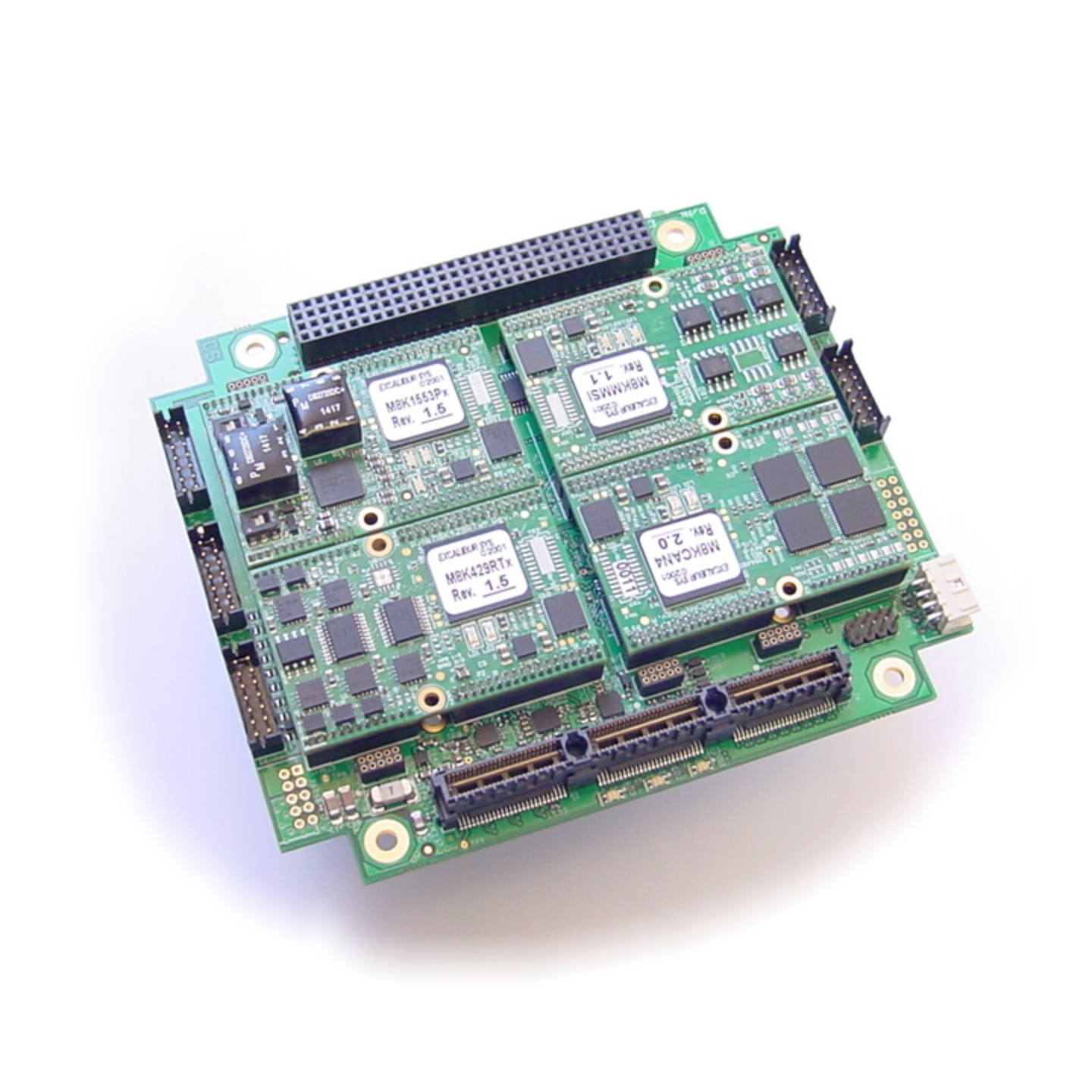 Advanced ARINC-429 test and simulation board for PCI/104-Express systems
